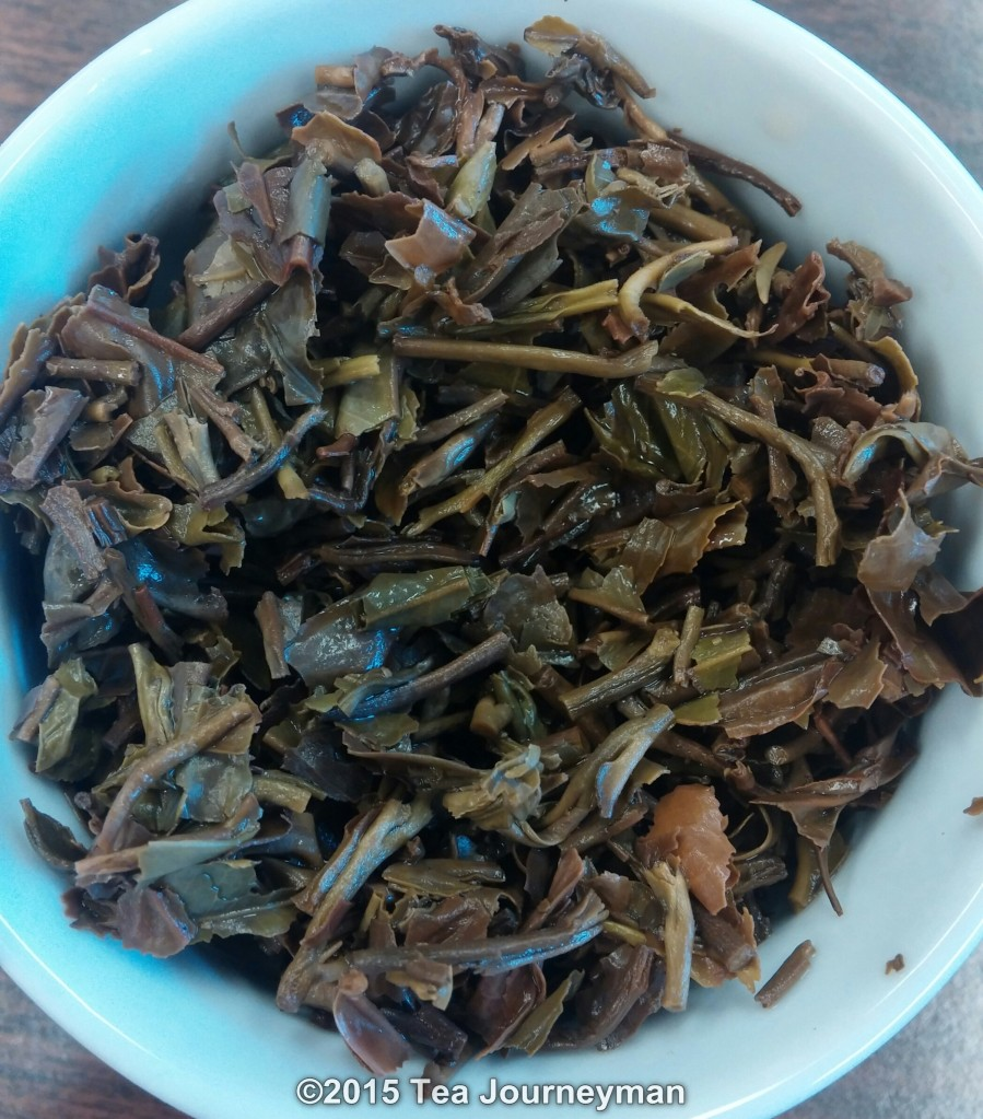 Margaret's Hope FTGFOP1 HS 2nd Flush 2014 Darjeeling Tea Infused Leaves
