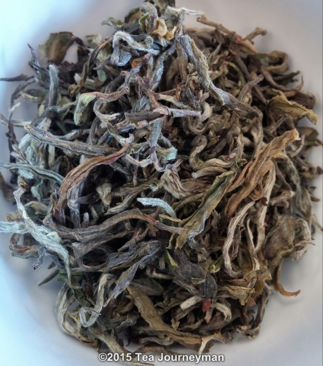 Greenland Organic Nepal 1st Flush 2014 Silver Oolong Tea Dry Leaves
