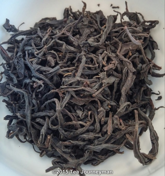 Georgia Nagobilevi Village Black Tea Dry Leaves