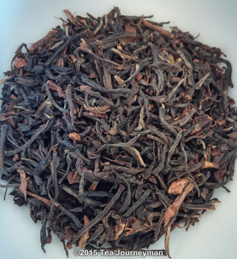 "Azores Shade-Grown Orange Pekoe ""Ponta Branca"" Black Tea Dry Leaves"