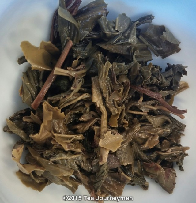 Krasnodar Large Leaf Green Tea Infused Leaves