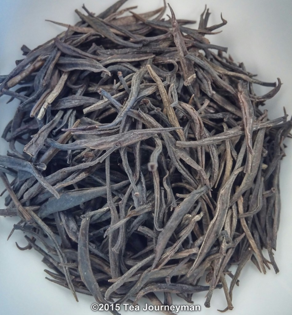 "Yunnan Graceful Purple ""Zi Juan"" Green Tea Dry Leaves"