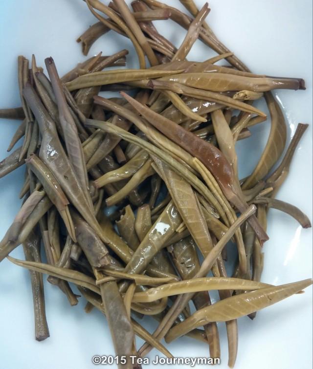 "Yunnan Graceful Purple ""Zi Juan"" Green Tea Infused Leaves"