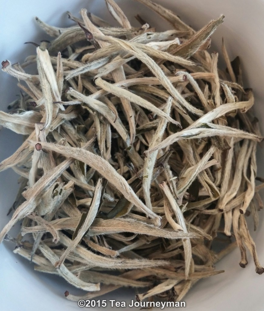 Kenya Silver Needle White Tea Dry Leaves
