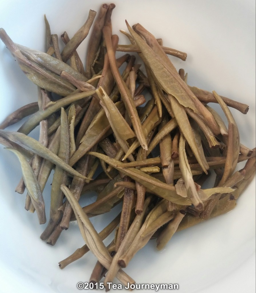 Kenya Silver Needle White Tea Infused Leaves