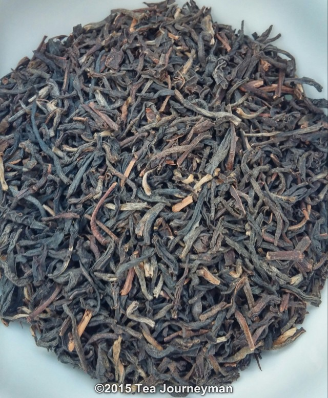Panitola TGFOP1 2nd Flush 2014 Black Tea Dry Leaves