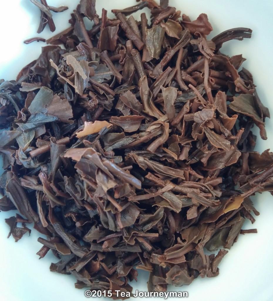 Panitola TGFOP1 2nd Flush 2014 Black Tea Infused Leaves