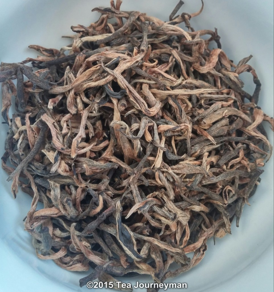 Nepal Second Flush 2014 Golden Tips Black Tea Dry Leaves