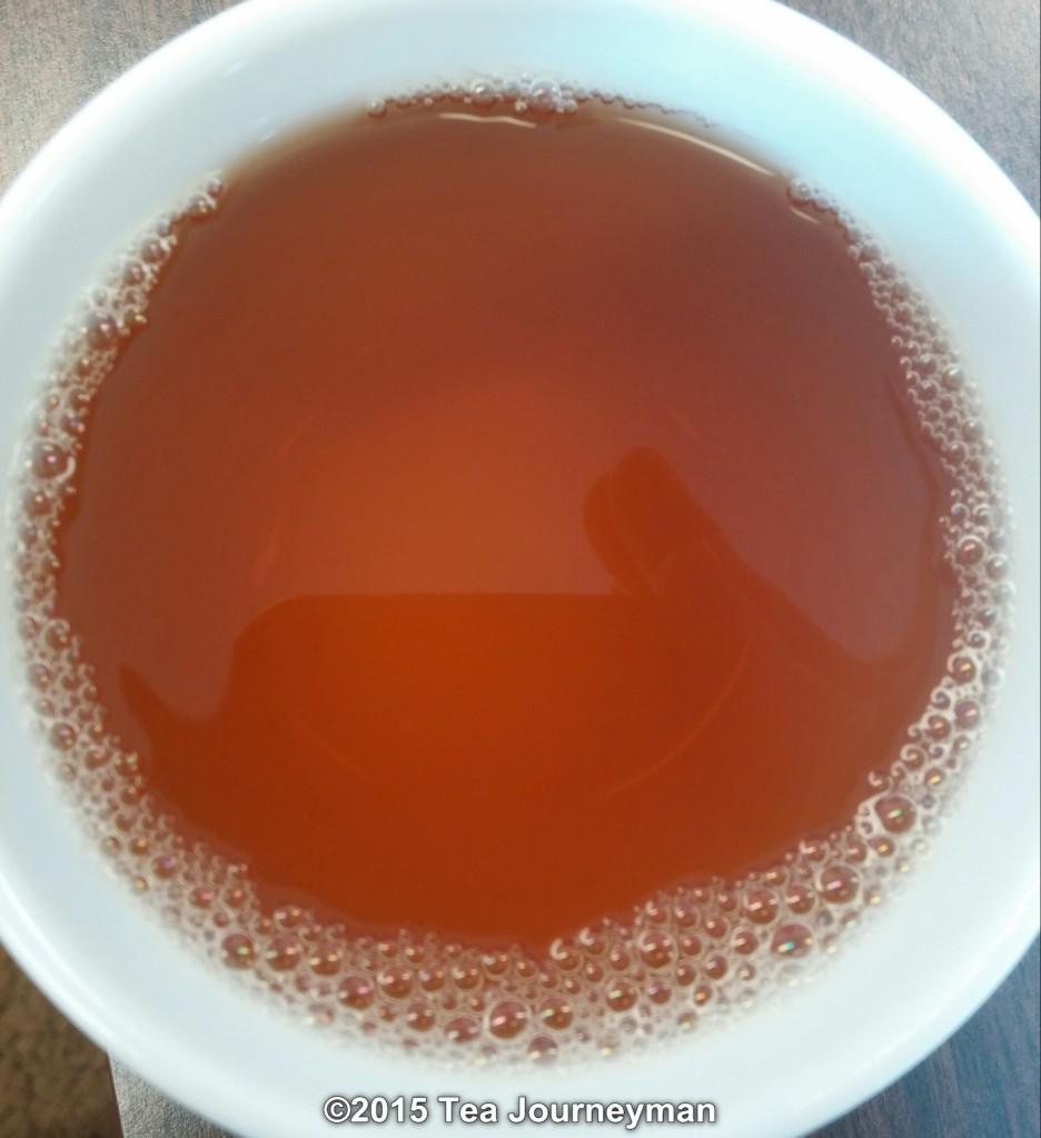 Nepal Second Flush 2014 Golden Tips Black Tea Liquor