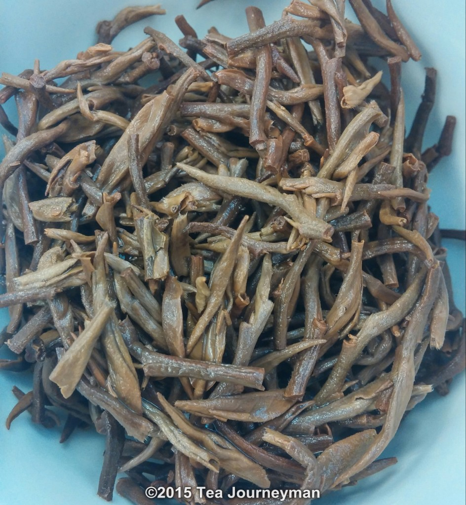 Nepal Second Flush 2014 Golden Tips Black Tea Infused Leaves
