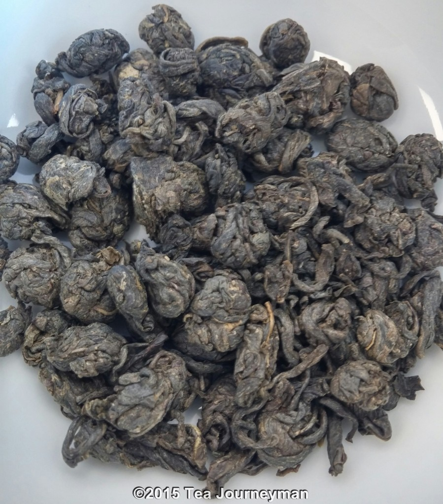 Nepal Second Flush 2014 Cannon Ball Green Tea Dry Leaves
