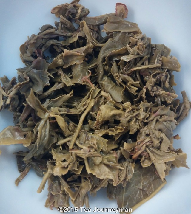 Nepal Second Flush 2014 Cannon Ball Green Tea Infused Leaves