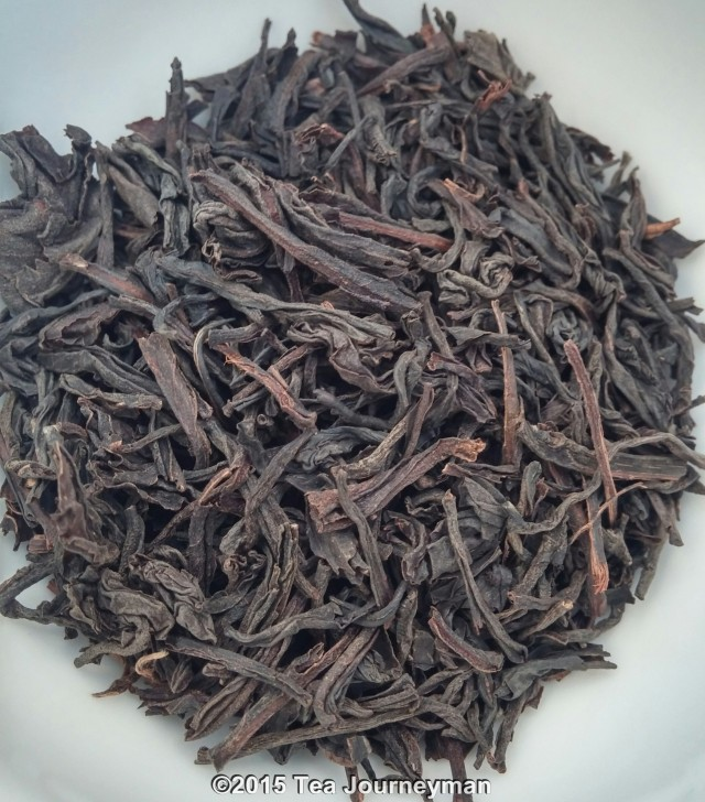 Krasnador Large Leaf Black Tea Dry Leaves
