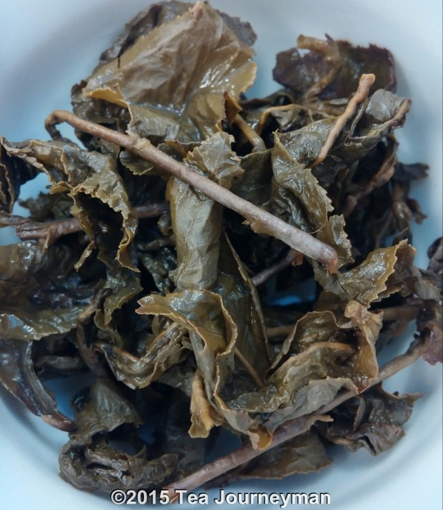 Heavy Roasted Tu Quy Oolong Tea Infused Leaves