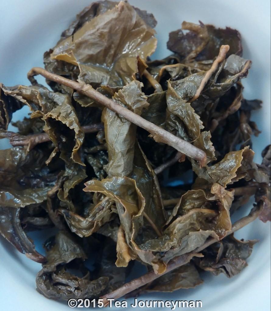 Heavy Roasted Tu Quy Oolong Tea Infused Leaves