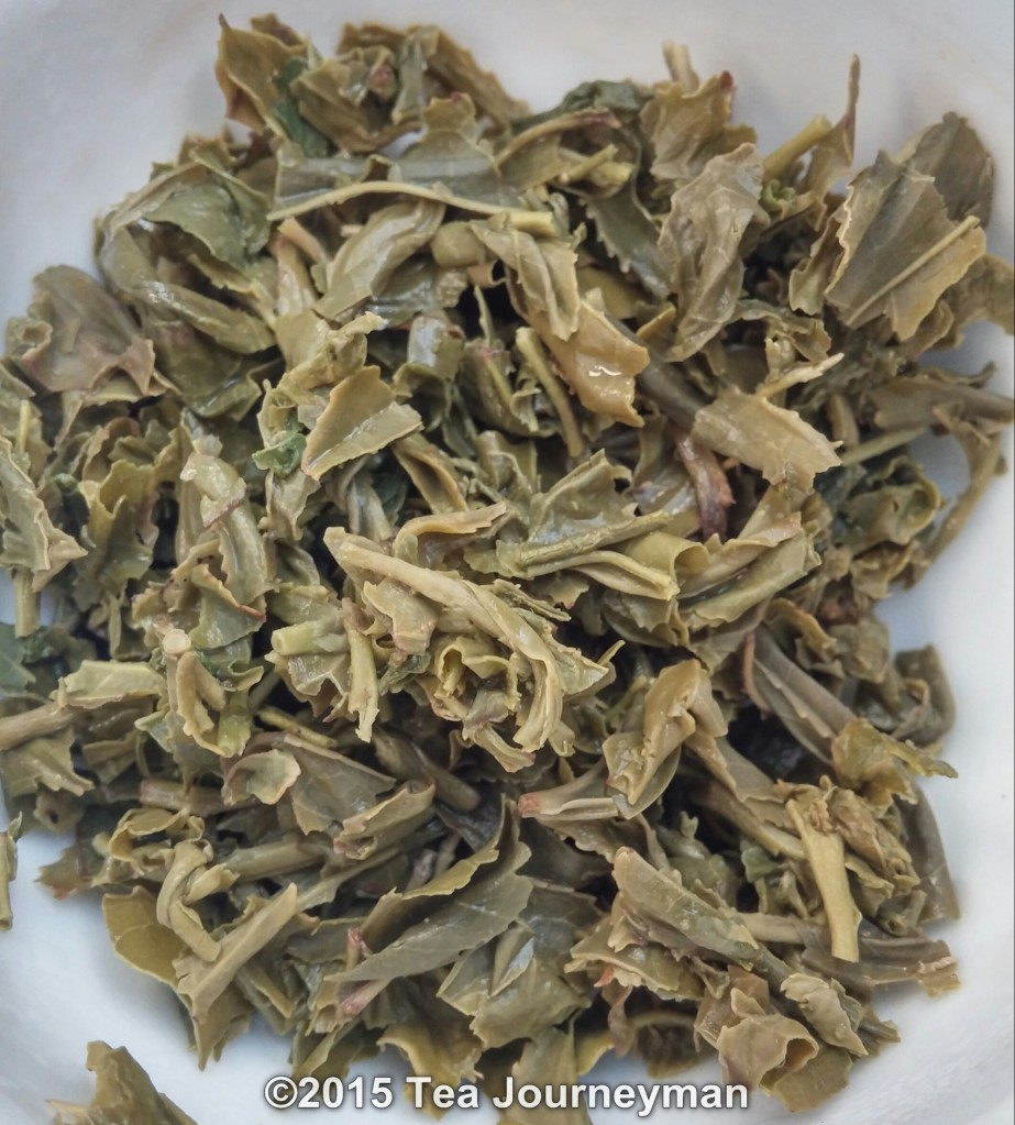 Teuksun Green Tea Infused Leaves
