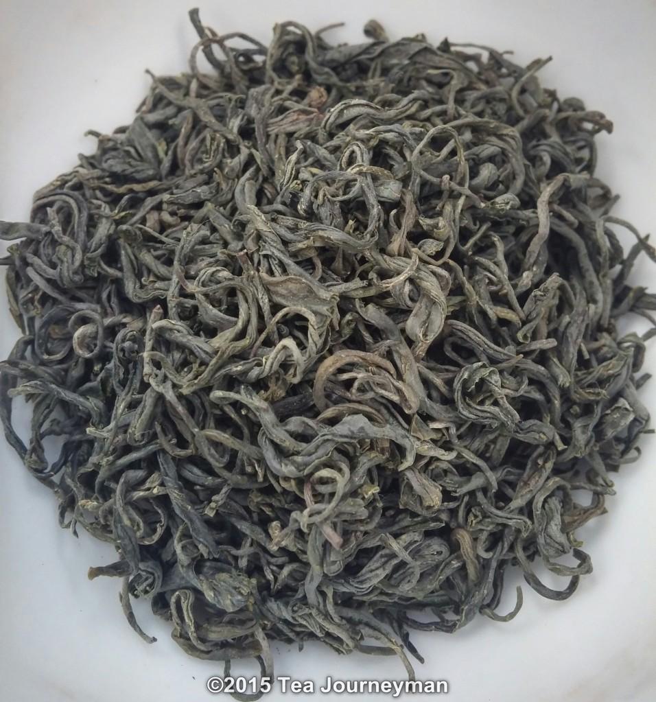 Organic Tezumi Teira Kamairicha Kanayamidori Green Tea Dry Leaves