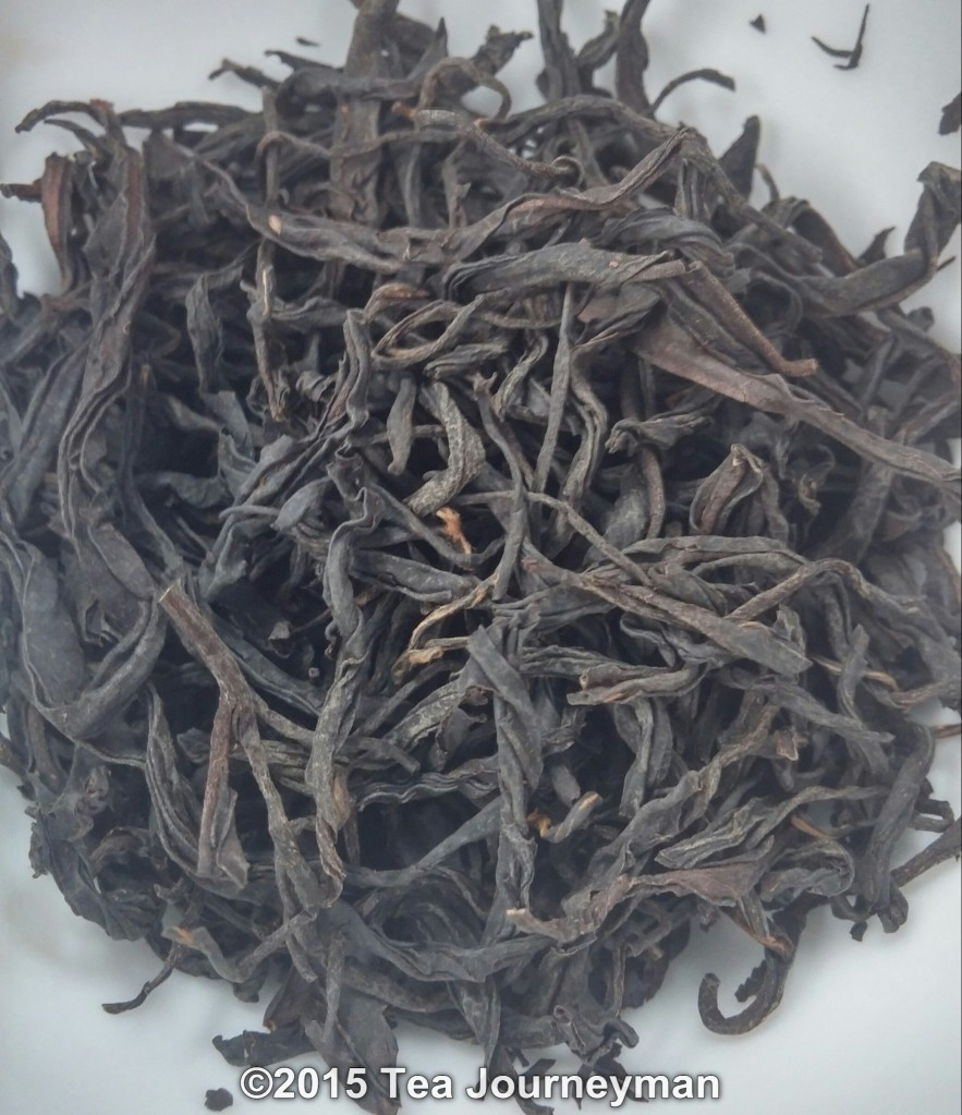 Georgia Old Gentleman Black Tea Dry Leaves