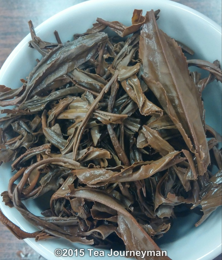 Georgia Old Gentleman Black Tea Infused Leaves
