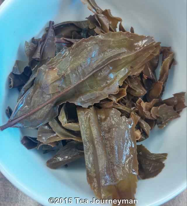 Organic Miyazaki Koubi Shiage Oolong Tea Dry Infused Leaves