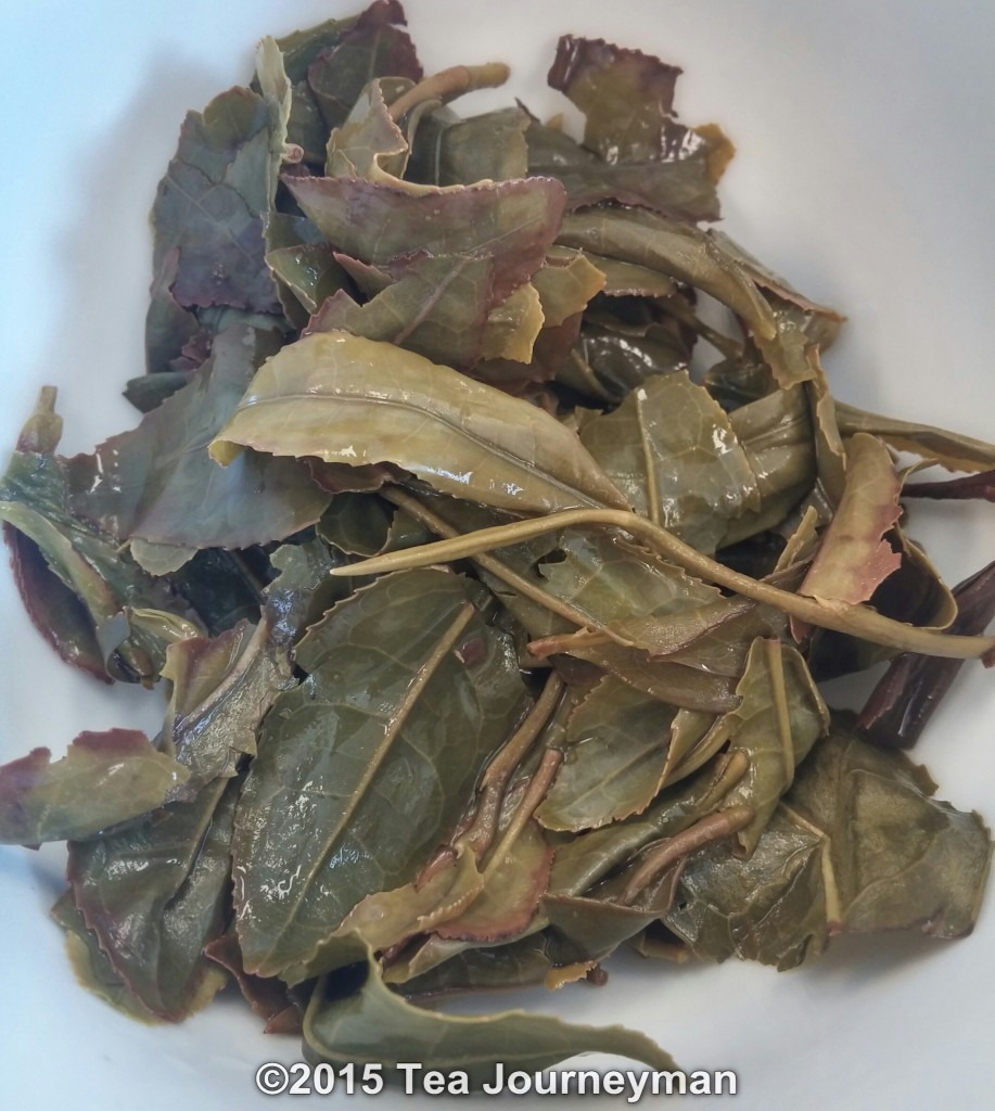 Organic Miyazaki Kuchinashi Oolong Tea Infused Leaves