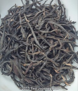 Amba Seasonal 2014 OP1 Black Tea Dry Leaves