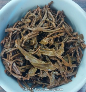 Amba Seasonal 2014 OP1 Black Tea Infused Leaves